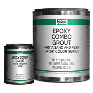 Image of Epoxy Combo Grout SS1241 Parts A and B Cans