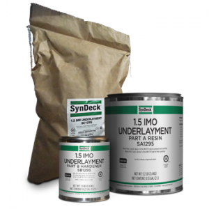 Image of SynDeck 1.5 IMO Underlayment SS1295 Parts A, B and C Cans and Bag