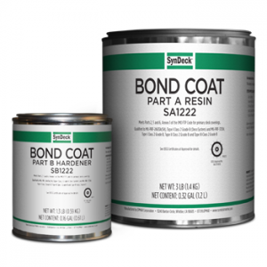 Image of SynDeck Bond Coat SS1222 Parts A and B Cans