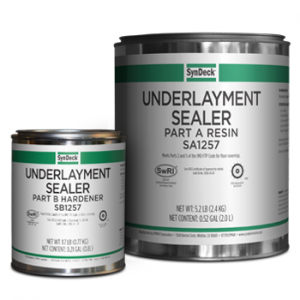 Image of SynDeck Underlayment Sealer SS1257 Parts A and B Cans